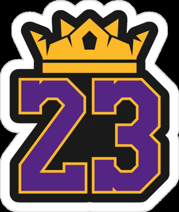 Lebron James Svg File, La Lakers Svg File, Nba Lebron.