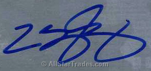 Certified Lebron James Autograph.