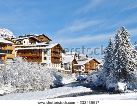 Lech Austria Stock Photos, Royalty.
