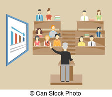 Lecture Illustrations and Clipart. 14,267 Lecture royalty free.