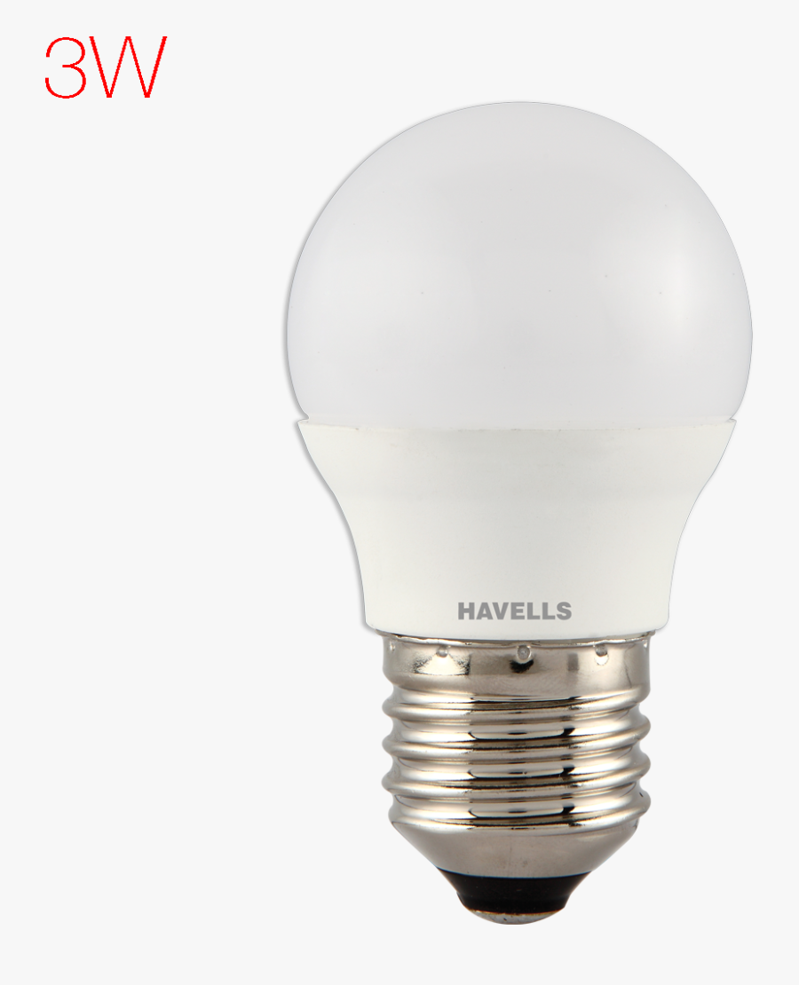 Transparent Led Bulb Png.