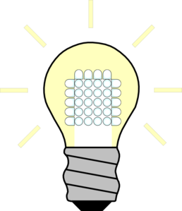 Led Light Bulb Clip Art.