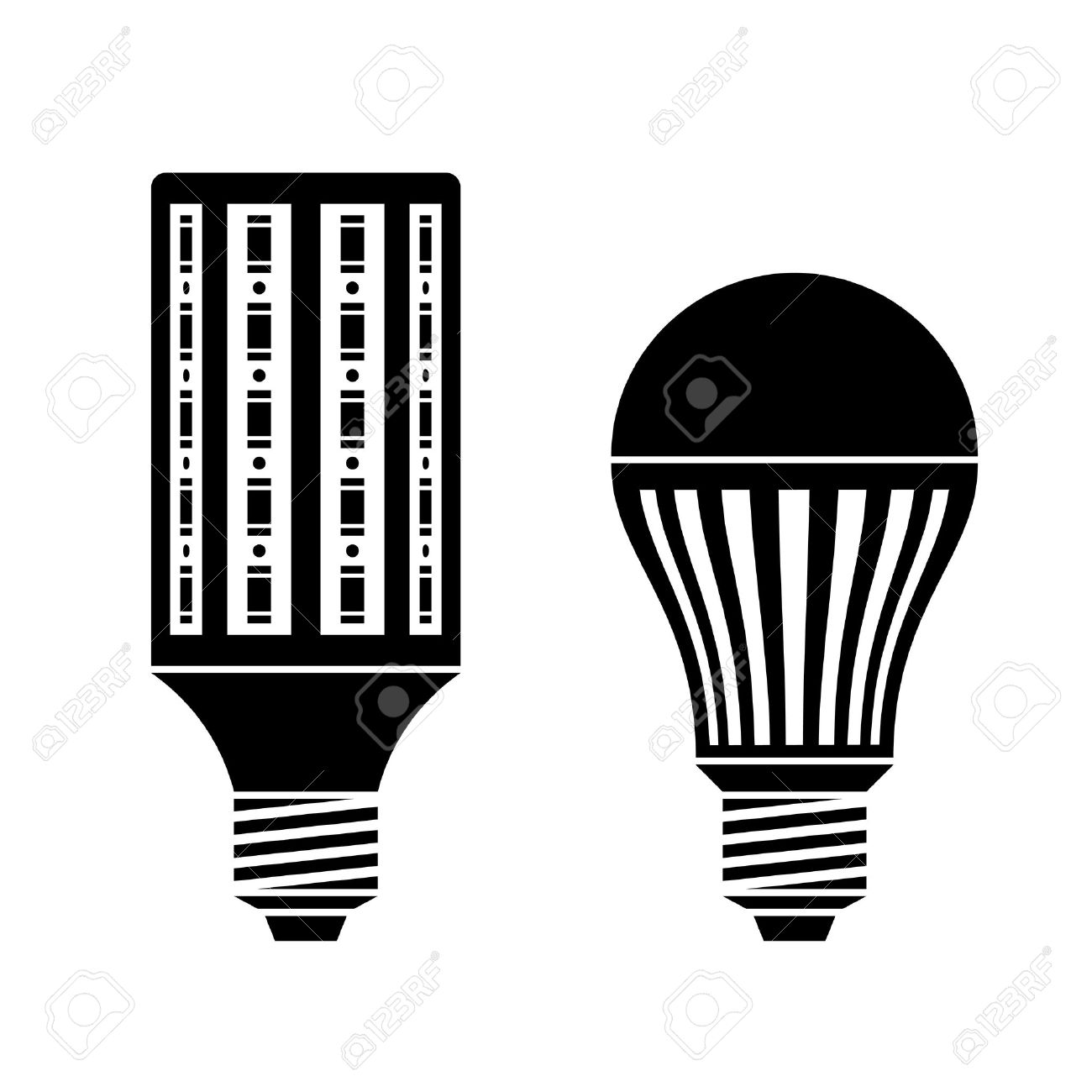 6,300 Led Bulb Stock Vector Illustration And Royalty Free Led Bulb.