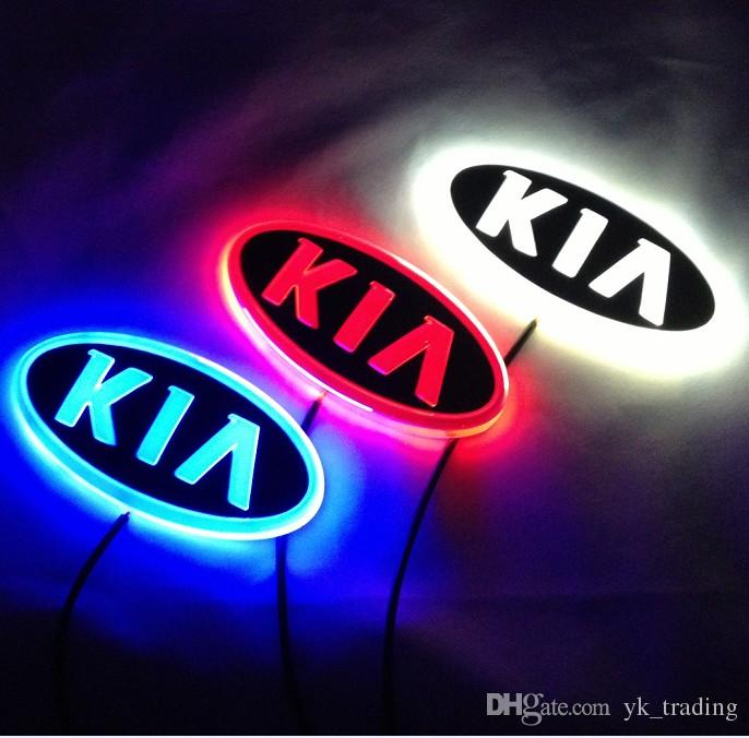 2019 11.9cm*6.2cm Car Emblem Light For Kia K5 Sorento Soul Forte Cerato  Badge Sticker LED Light 4D Logo Emblems Light From Yk_trading, $14.22.