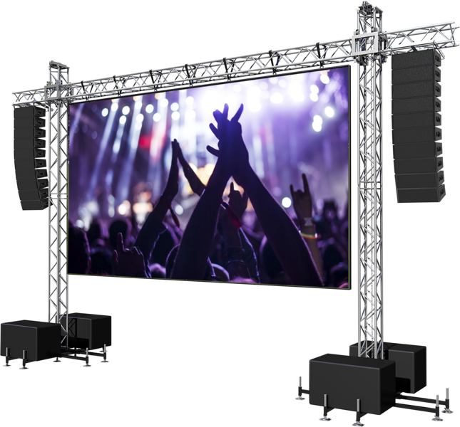 Led Screen Stage (PNG).