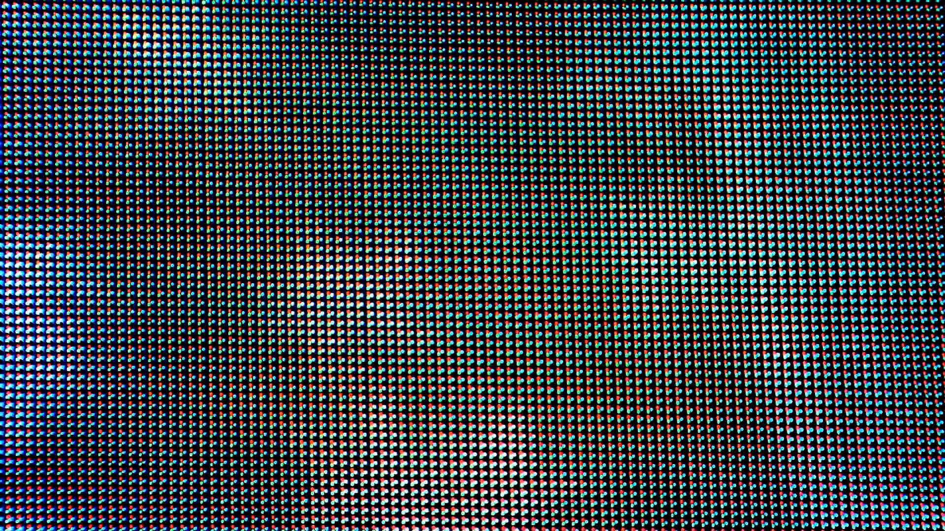 Real LED Screen Board in Close Up Background Stock Video Footage.