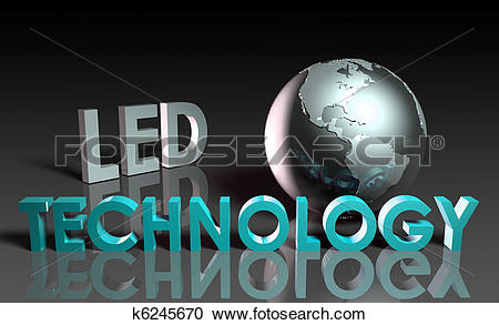 Stock Illustrations of LED Technology k6245670.