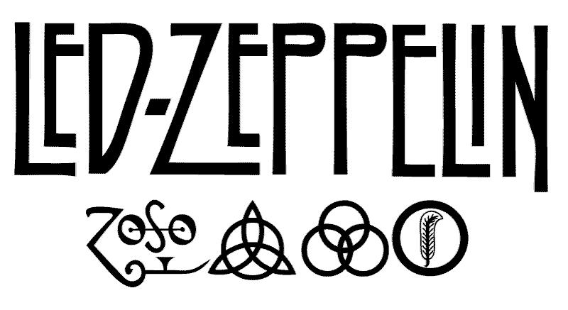 Led zeppelin logo png 4 » PNG Image.