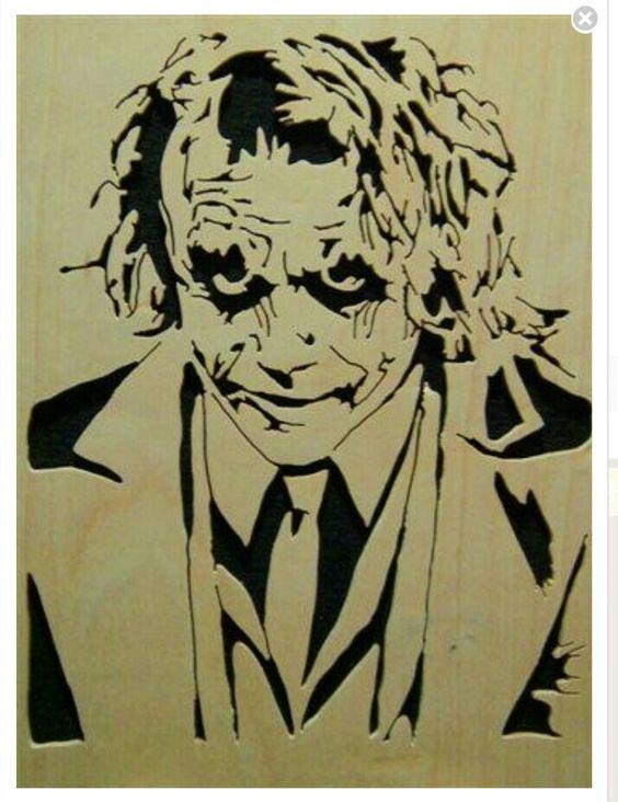 Joker heath ledger clipart.