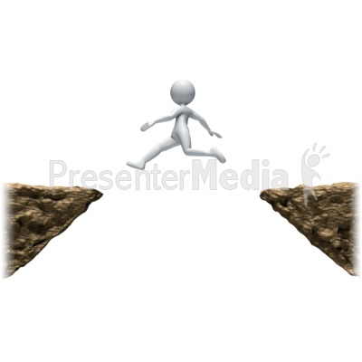 Stick Figure Leaping Ledges.