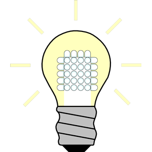 Light Bulb LED On clipart, cliparts of Light Bulb LED On free.