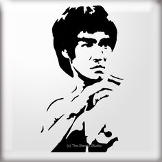 Clipart bruce lee.