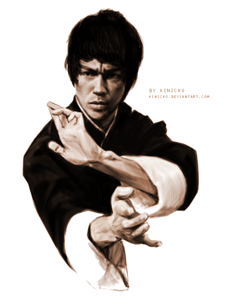 Bruce Lee PNG Clipart.