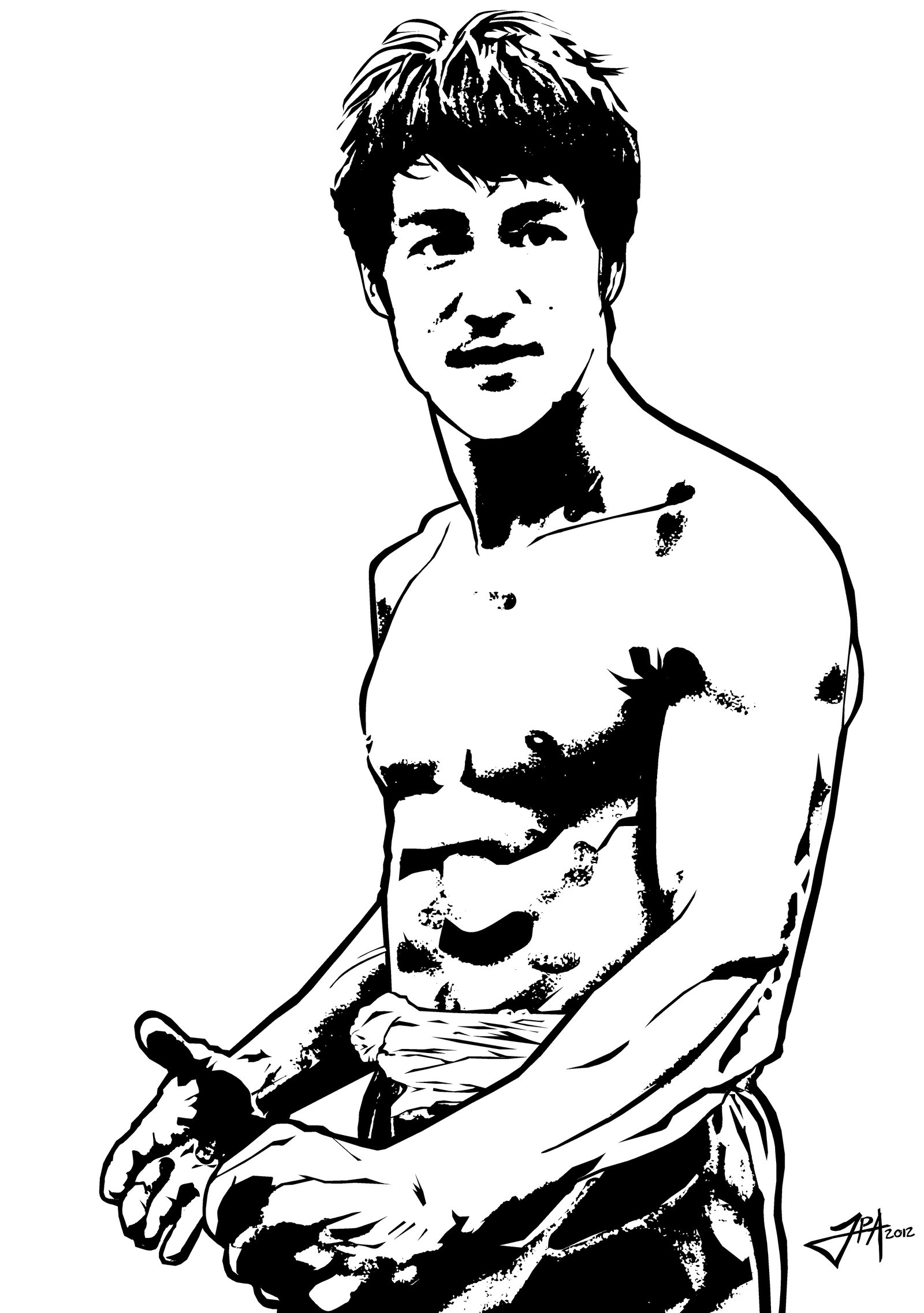Bruce Lee Hd Clipart Free Download.