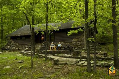 Devil's Den State Park, Arkansas.