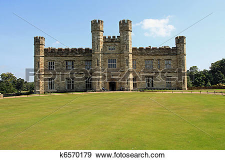 Stock Photograph of Leeds Castle, UK k6570179.