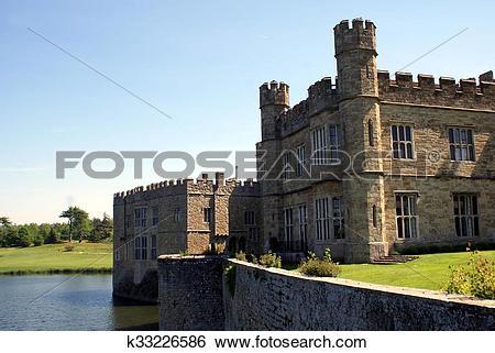 Stock Images of Leeds Castle, England k33226586.
