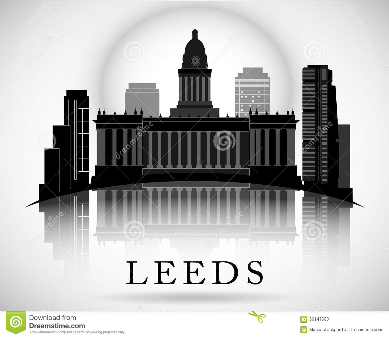 Leeds Stock Illustrations.