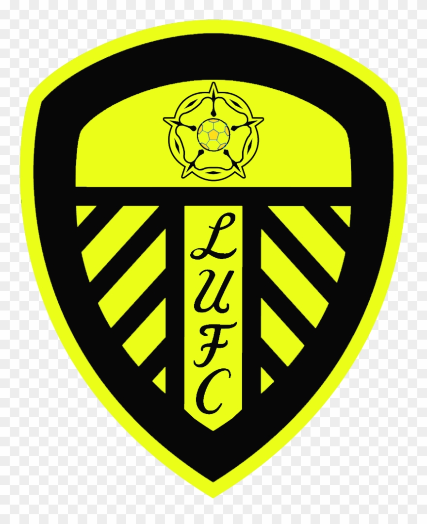 Black Leeds United Badge Clipart (#3901447).
