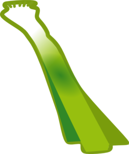 Leek Clip Art at Clker.com.
