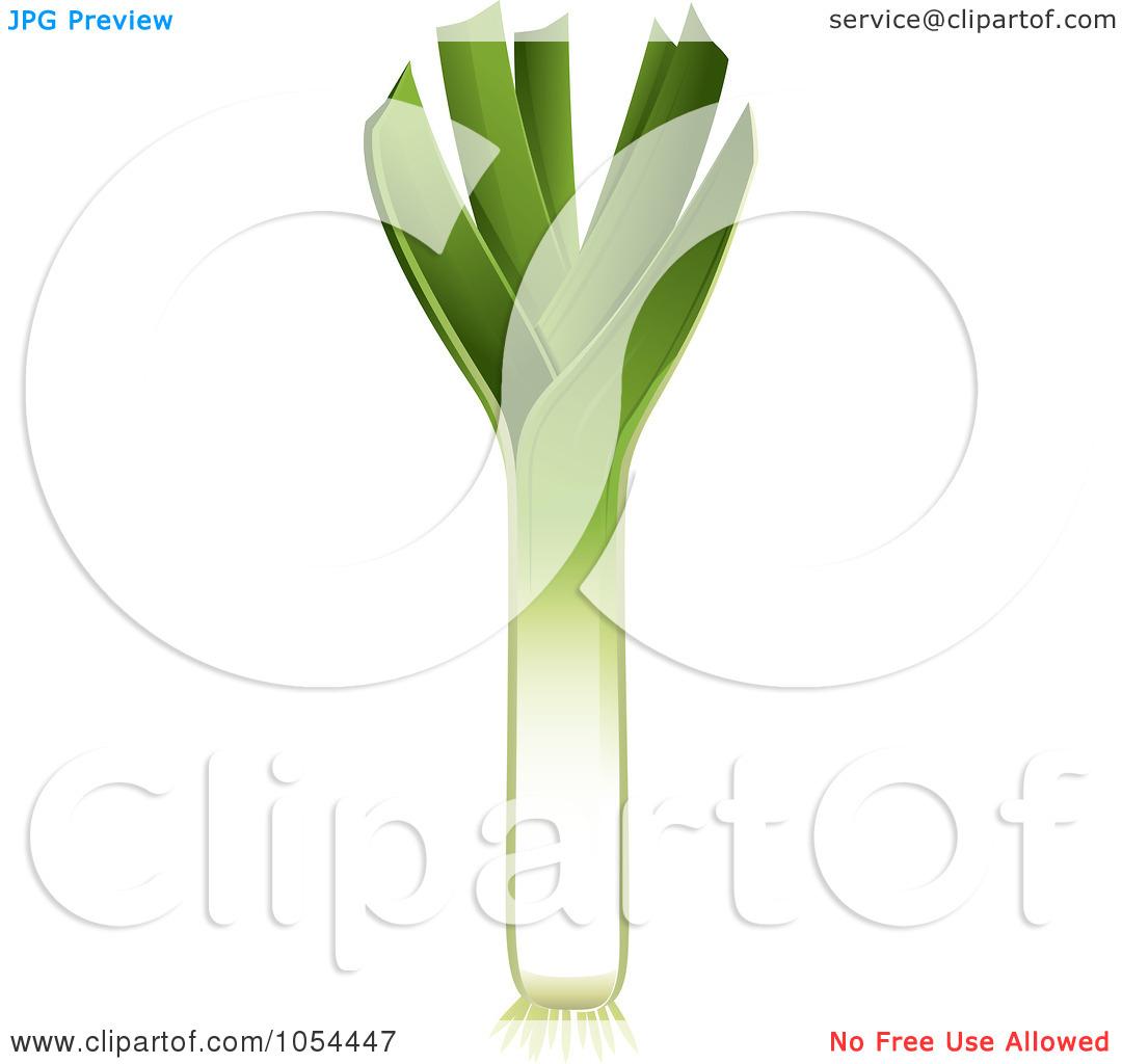 Leek flower clipart #17