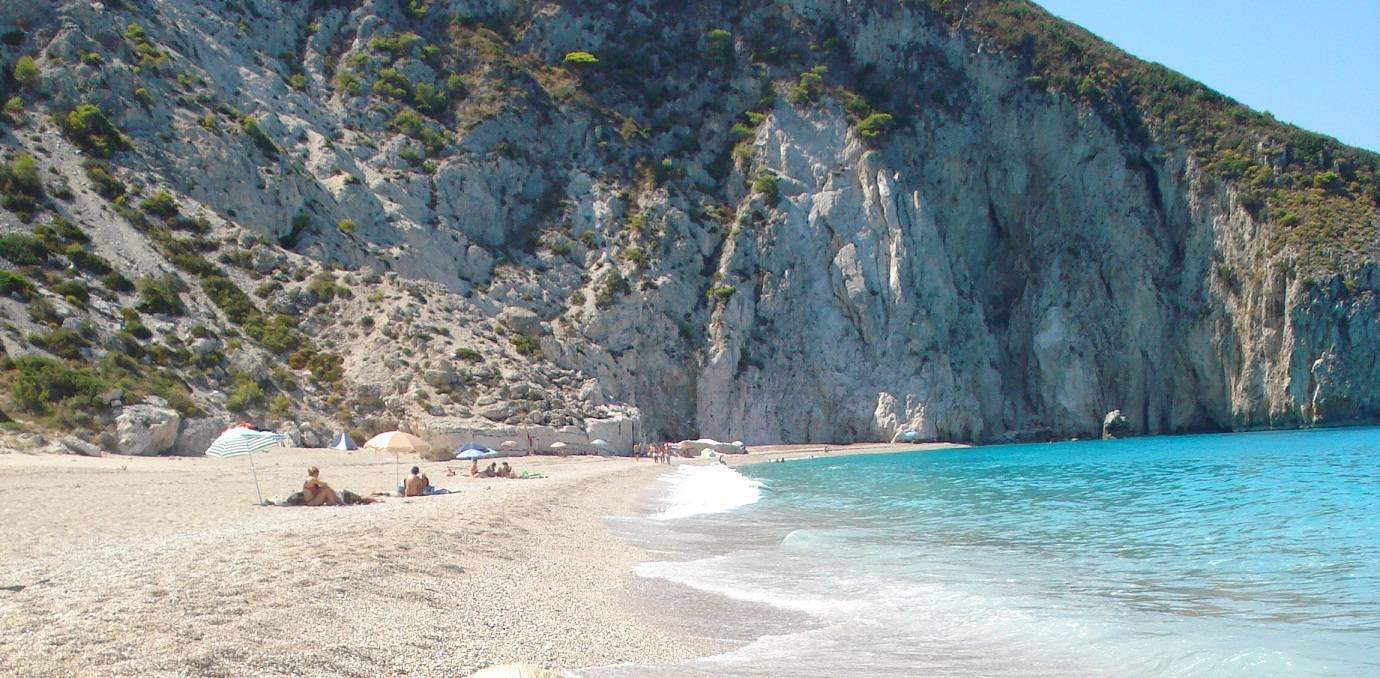 The beaches of Lefkada.