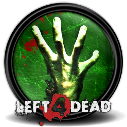 Left 4 Dead Round Icon, PNG ClipArt Image.