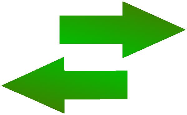 Left Right Green Arrow Icon Clip Art at Clker.com.