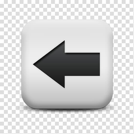 Arrow Icon, Left Arrow transparent background PNG clipart.