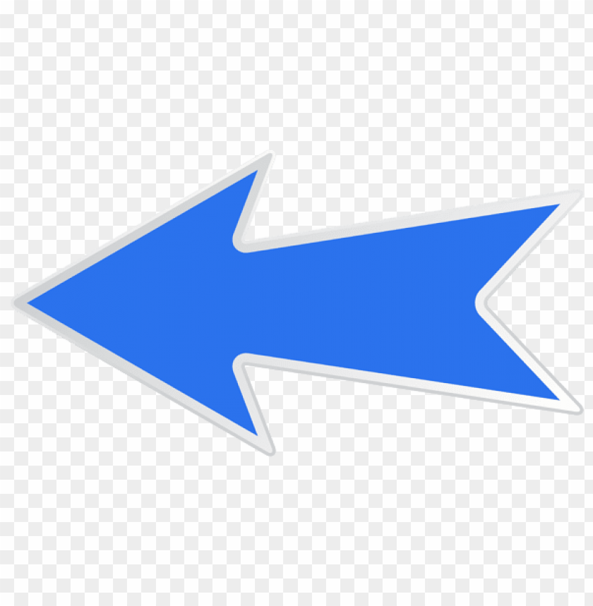 Download blue left arrow clipart png photo.