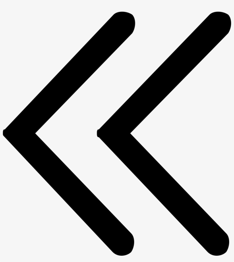 Double Left Arrow.