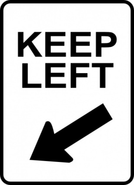 Left Clip Art Ear.
