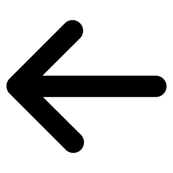 Left arrow clipart.