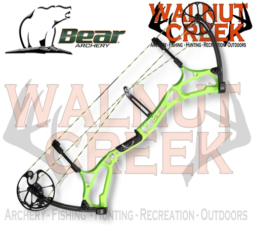 Bear Archery Empire Comp Green Compound Bow Left Hand 50lb 330FPS.