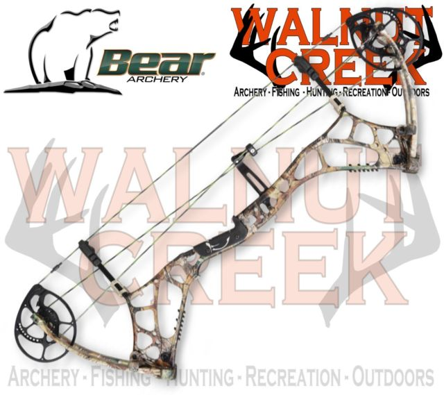 Bear Archery Agenda 6 Compound Bow Realtree APG 60lbs Left Hand.