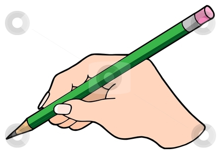 Pencil In Hand Clipart#2024966.