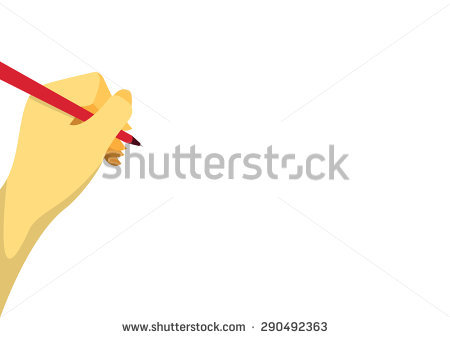 Gallery For > Left Hand Writing Clipart.
