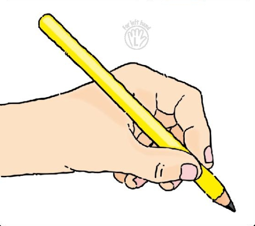 Hand Holding Pencil Clipart#2119059.