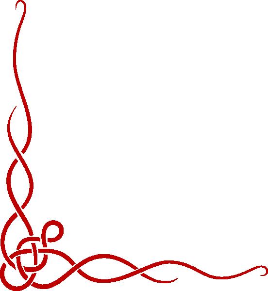 Red Ribbon Left Side Clip Art at Clker.com.