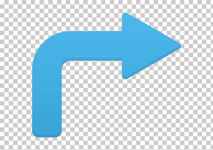 Blue angle text symbol, Arrow turn right, blue right arrow.