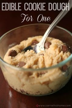 Edible Funfetti Cookie Dough.