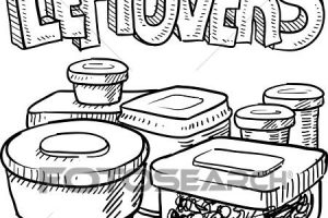Leftover food clipart 4 » Clipart Station.