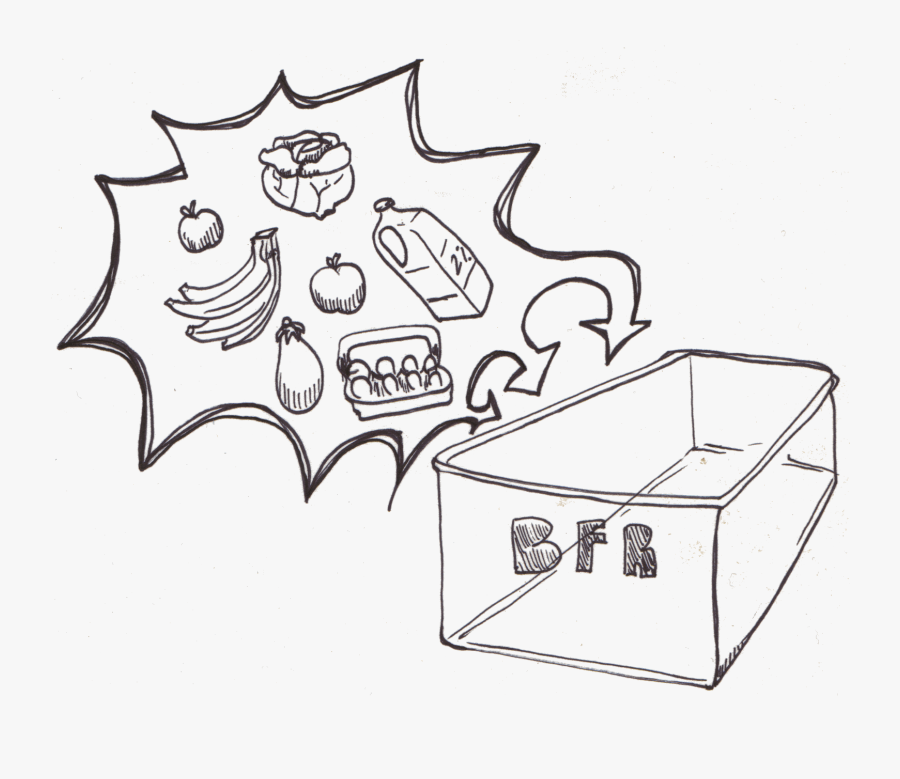 Leftover Food Drawing , Free Transparent Clipart.