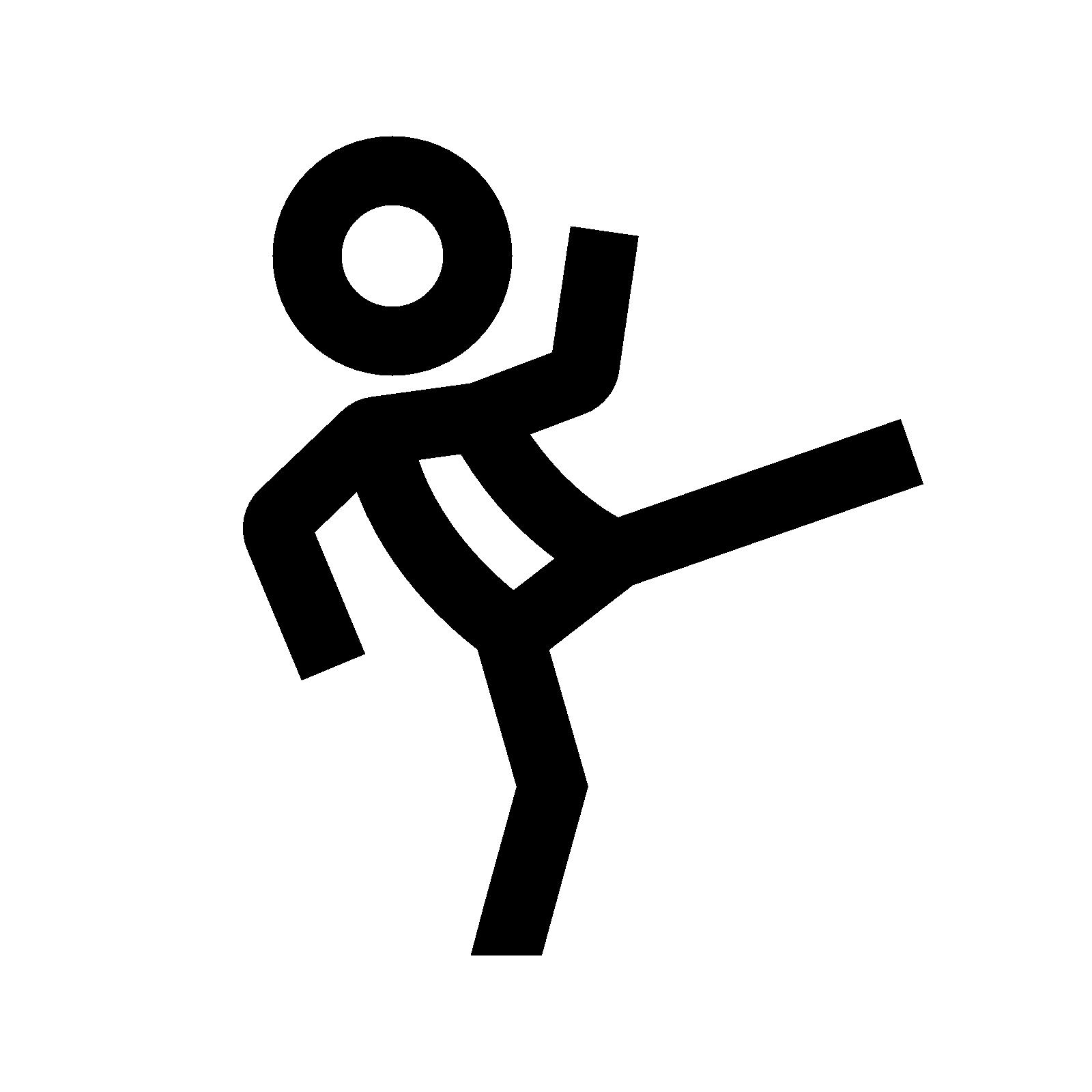 Kicking Icon.