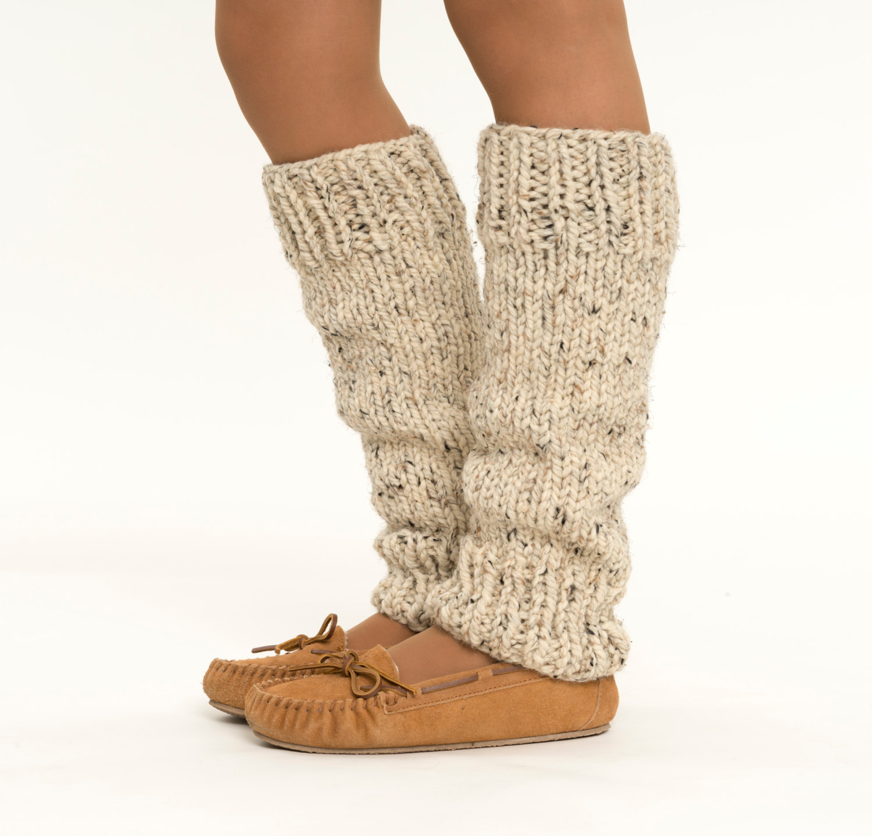 Cozy leg warmers.