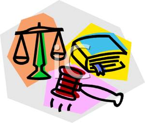 Legal clipart images.