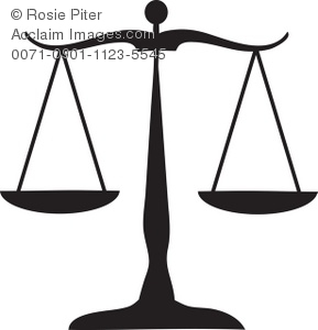 Justice System Clipart.
