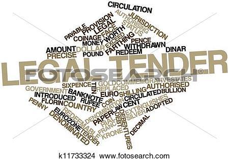 Legal tender clipart #16