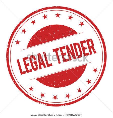 Legal tender clipart #3