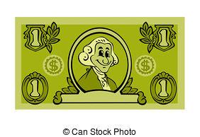 Legal tender clipart #10